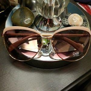 Circus by Sam Edelman Blush-tone Sunglasses NWOT